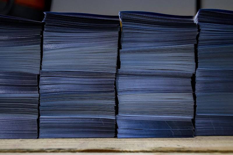 Alberi blu di Michele Tambornino