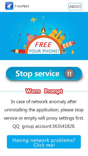 Forevernet freenet free vpn internet for android