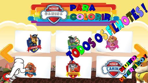 Pintar Patrulha Canina 1.0.0.6 screenshots 1
