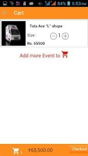 Oleb Event Management screenshot