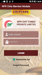 NPR Chits Member Module - náhled