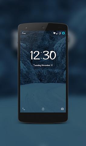 android IcyPeak CM12.1 Theme Screenshot 1