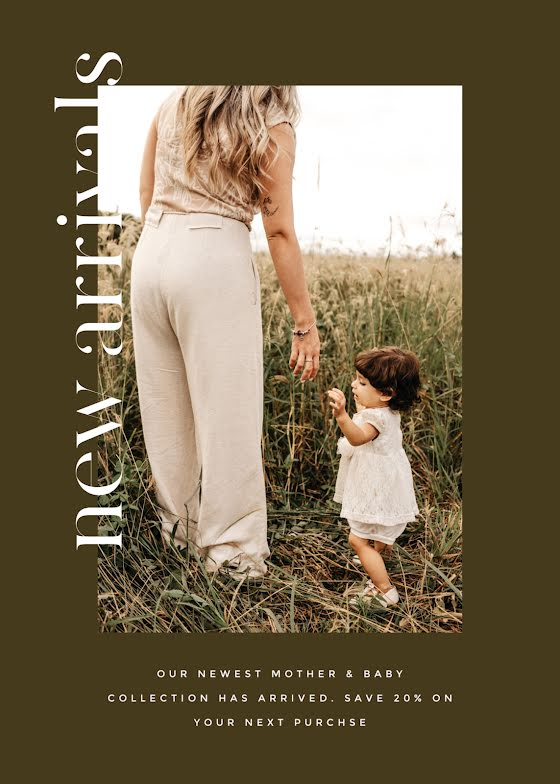 Mother & Baby Collection - Mother's Day Card Template