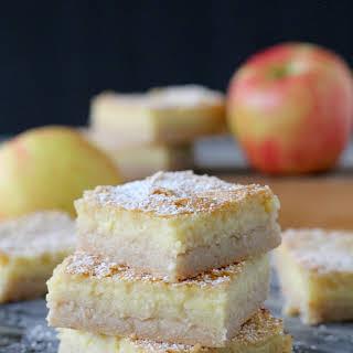Gluten-Free Apple Bars.