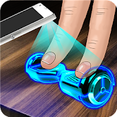 Hologram 3D Hoverboard Joke