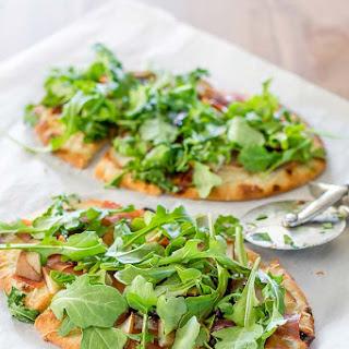 Pear and Arugula Pizza.