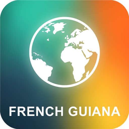 French Guiana Offline Map 旅遊 App LOGO-APP試玩