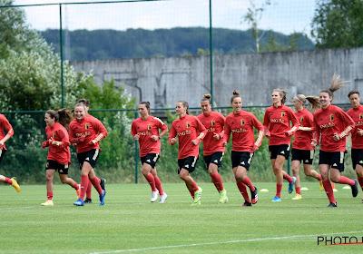 📷 Beelden van de training in Tubeke van de Red Flames