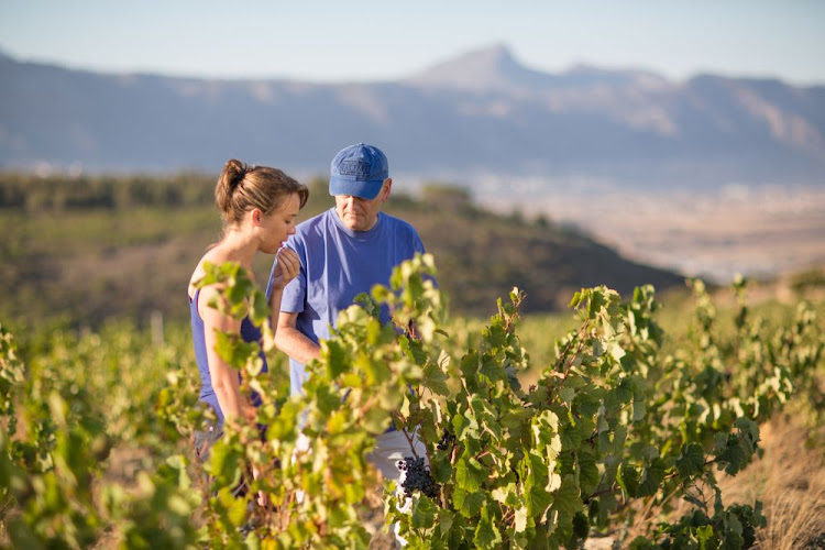 False Bay Vineyards winemaker Nadia Barnard and owner Paul Boutinot aim to make real wines affordable