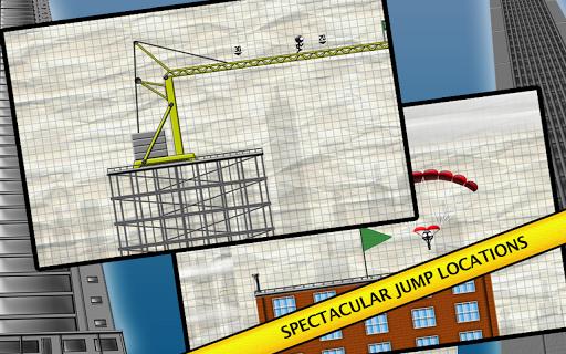 Stickman Base Jumper screenshot 7