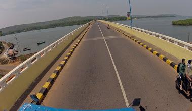 Photo: siolim bridge