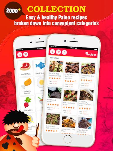 玩免費遊戲APP|下載2000+ Paleo Diet Recipes app不用錢|硬是要APP