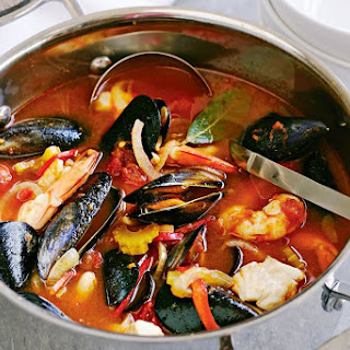 Italian Fish Soup With White Beans