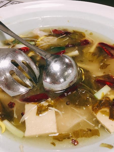 水煮魚如果可以不用百頁豆腐就好了