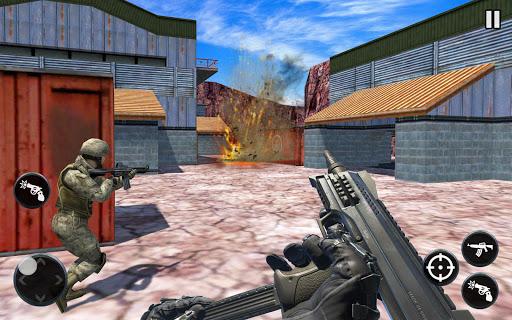 Code Triche Rage cible bataille: Gratuit Sniper Jeux Counter APK MOD screenshots 1
