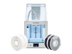 Ultimaker 2+ Connect, 50% Off Filament Basic Pack, Air Manager, 3 Year Warranty