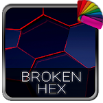 Broken Hex Theme for Xperia Icon