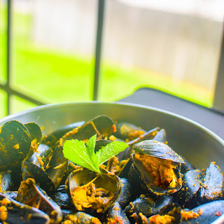 Mussels in Asian Style Recipe