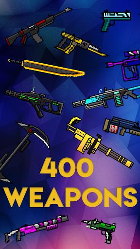 Code Triche Idle Weapon Tycoon - Pixel Royale Evolution  APK MOD (Astuce) screenshots 2