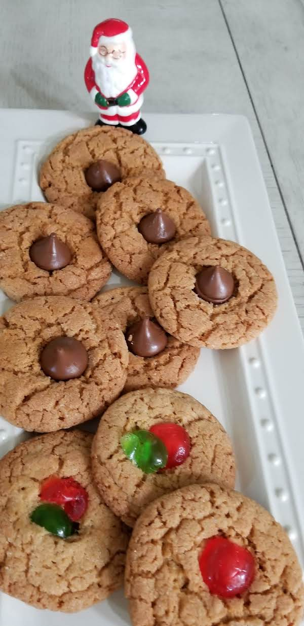 Peanut Butter Holiday Cookies