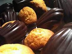 French Madeleines chocolat-vanille - Chocolate-Vanilla Madeleines