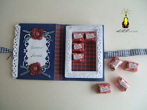 Photo: cARTe livre ouverte, - fond écossais de la carte