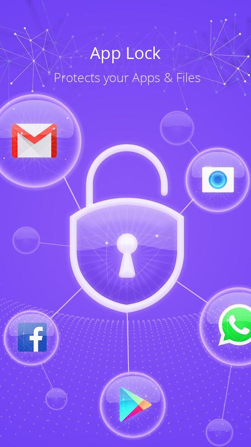 CM Locker-AppLock, Lock screen- screenshot
