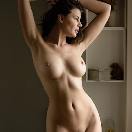 by Mike P - Nudes & Boudoir Artistic Nude ( lingerie, figure, pretty, sensual, sexy, boobs, olga kaminska )