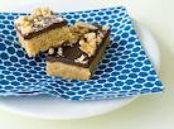 Splenda Chocolate Toffee Bars Recipe
