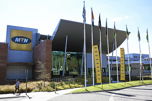 MTN headquarters in Fairlands, Johannesburg Bloomberg / Waldo Swiegers