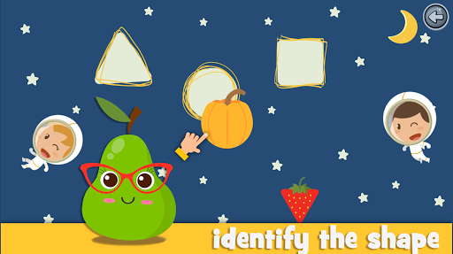 Learn fruits and vegetables - games for kids  screenshots 1