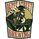Logo for Depot Street Brewing