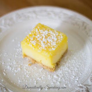 Frozen Lemon Bars.