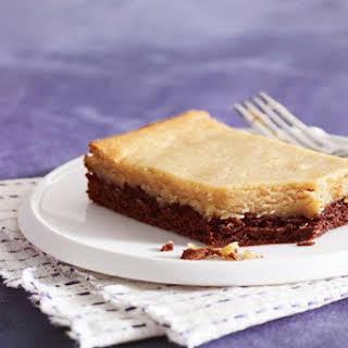 Warm Peanut Butter-Chocolate Cake.