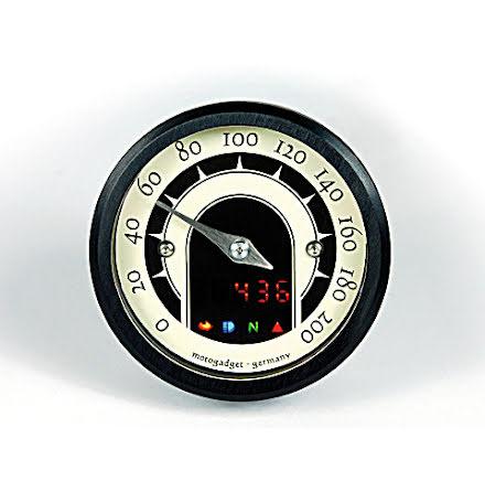 motogadget speedometer motoscope tiny speedster, black