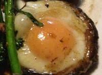 Egg In  A Mushroom Bake Recipe