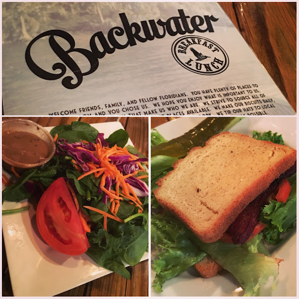 BLT and salad