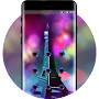 Scenery theme parisss e space interstellar planet APK icon