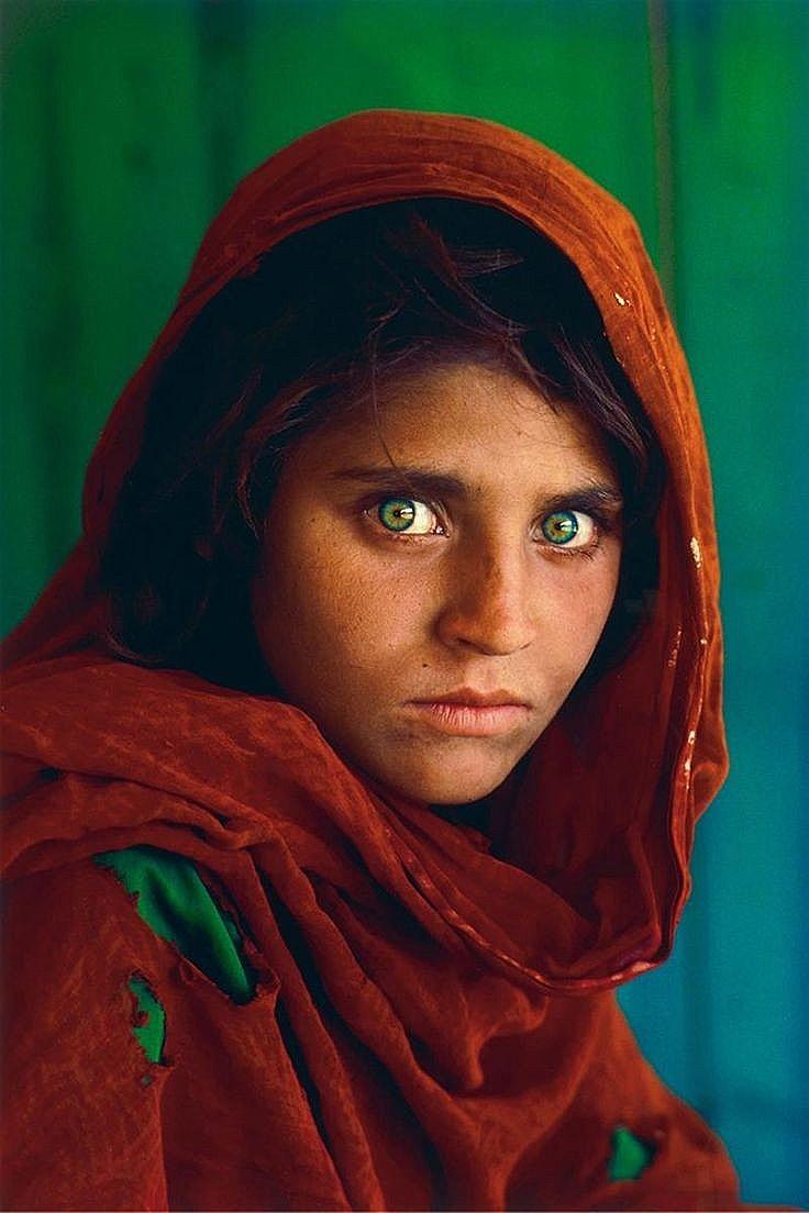 عکس دختر افغان_استیو مک کوری