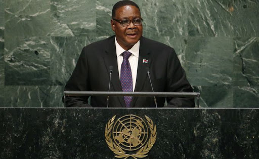 Peter Mutharika, President of Malawi. Picture: LUCAS JACKSON/ REUTERS