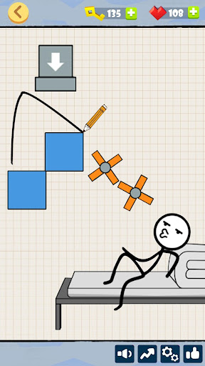Bad Luck Stickman- Addictive draw line casual game 1.1.2 screenshots 4