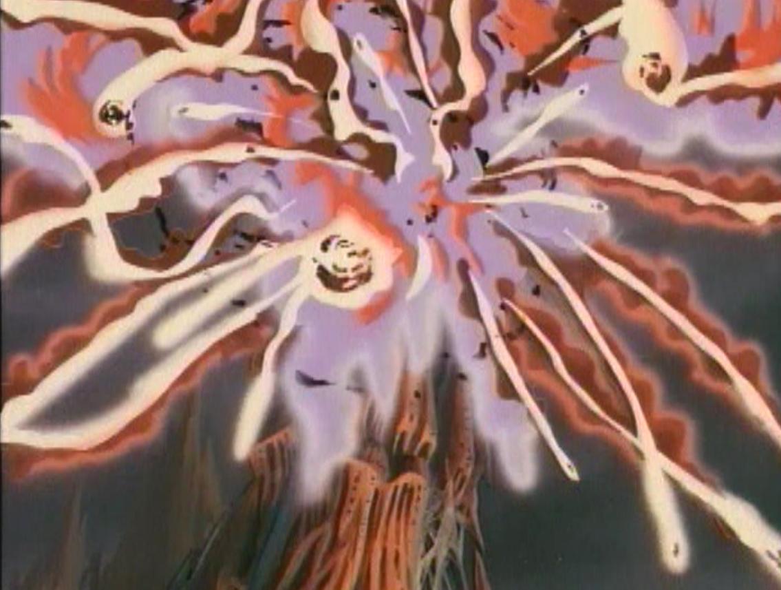 Venger's castle explodes