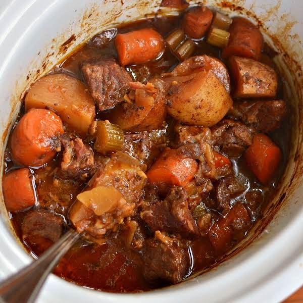 Crock Pot Beef Stew For Two Recipe