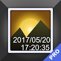 Timestamp Photo and Video icon