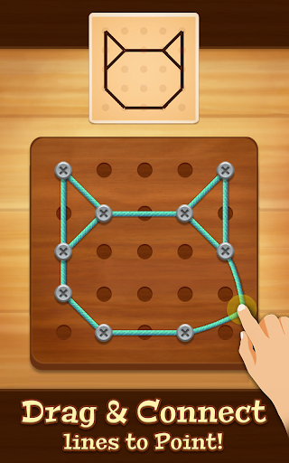 Line Puzzle: String Art  captures d'écran 1