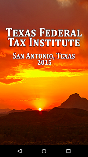 Texas Federal Tax Institute