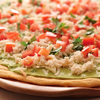 California Appetizer Pizza.