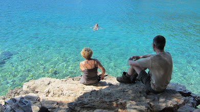 Photo: Waterpret op het eiland Lošinj