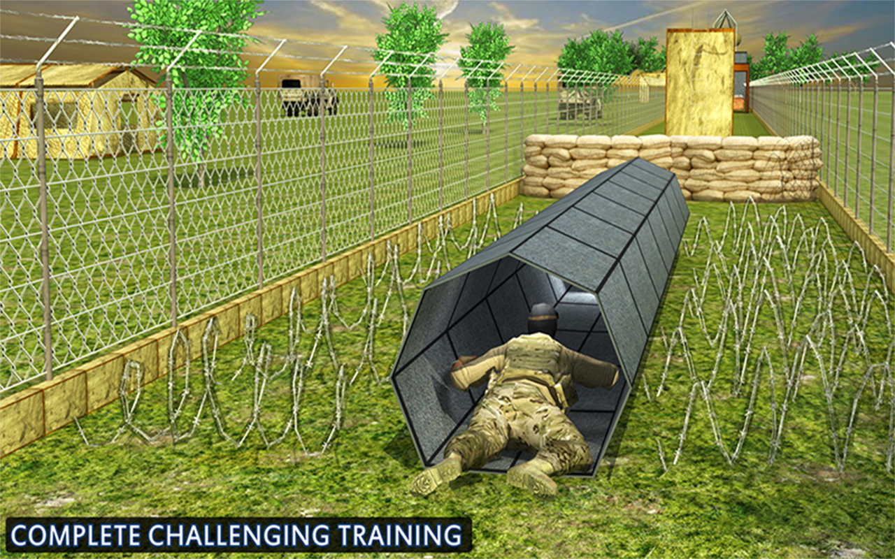 US Army Training Mission Game- screenshot
