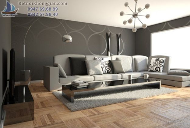 thiết kế nội thất mệnh kim cho gia chủ